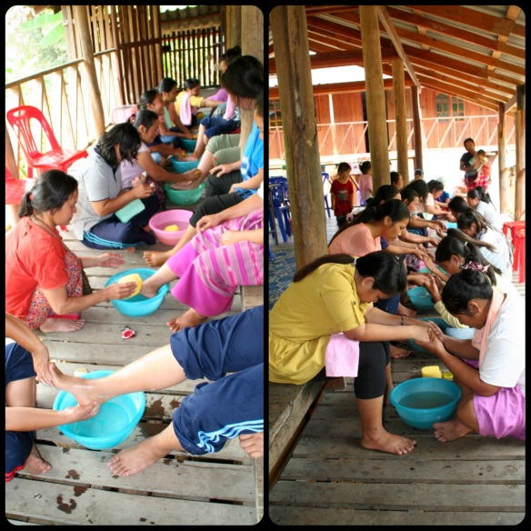 Foot Washing@MT